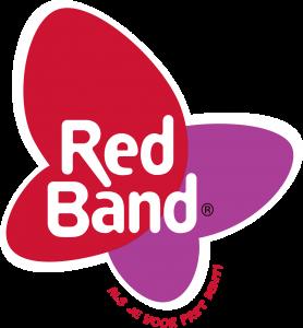 RB logo rode tekst